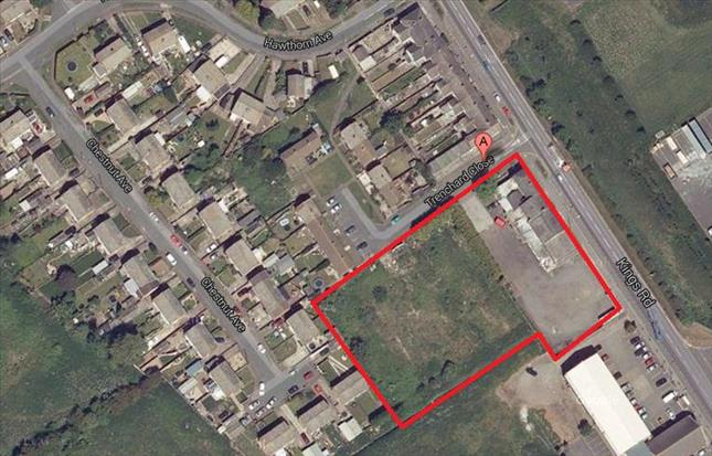 Land Kings Road.Trenchard Close, Immingham, North East Lincolnshire, DN40