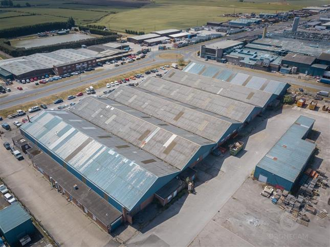 Land And Buildings On The North Side Of , Lancaster Road, Carnaby Industrial Estate, Bridlington, YO15 3QY