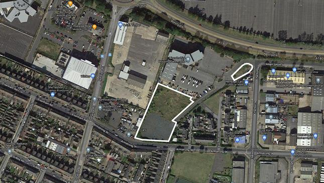 Land At Westgate Park Armstrong Street, Grimsby, North East Lincolnshire, DN31