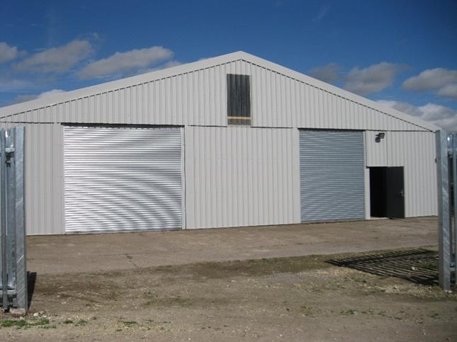 Former Anglian Water Grain Store, Marsh Lane, Barnetby, North Lincolnshire, DN38 6JW