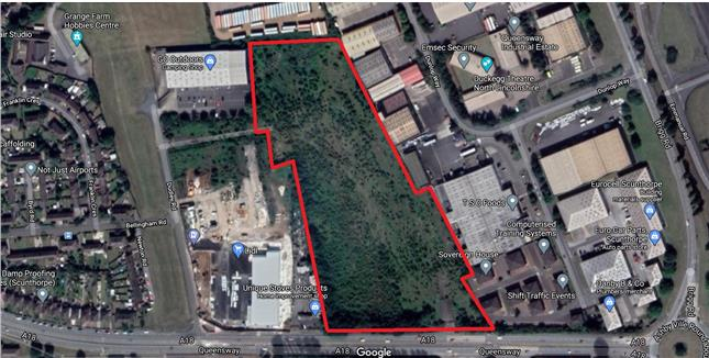 Acres Of Land, Queensway Industrial Estate, Queensway, Scunthorpe, North Lincolnshire, DN16